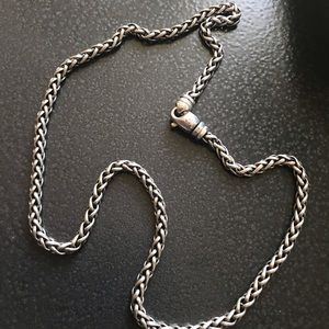 David Yurman Wheat Chain 18 Inch